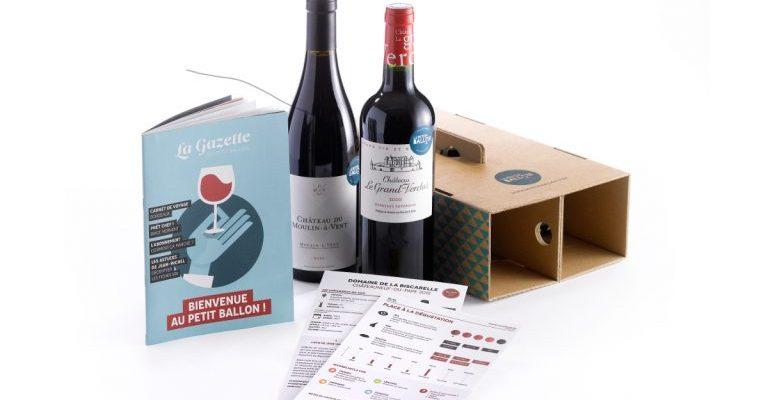 Box de vin pour la fête des Pères